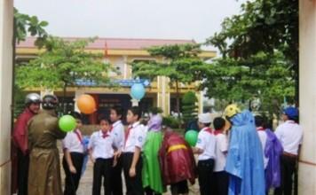 nghĩ học, học sinh Quảng Bình, tin tức Quảng Bình