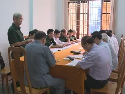 Hội CCB Việt Nam làm việc với CCB tỉnh