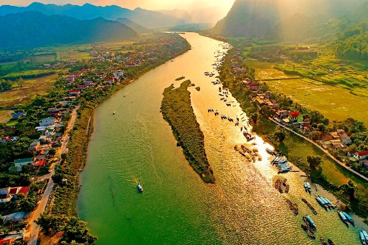 Vẻ đẹp sông Son.