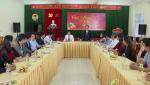 Đồng chí Bí thư Tỉnh ủy thăm, chúc Tết Hội Nông dân tỉnh và BTV Huyện ủy Tuyên Hóa