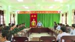 Đồng chí Bí thư Tỉnh ủy thăm, kiểm tra hoạt động của các đơn vị, dự án trên địa bàn huyện Lệ Thủy